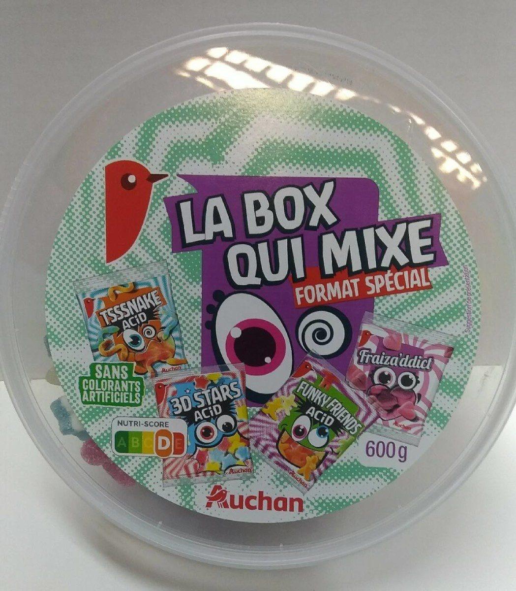 La box qui mixe - Produit