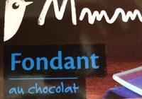 Fondant au chocolat x2 - Produit - fr