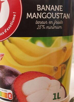Jus Banane Mangoustan - Produit - fr