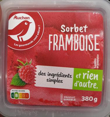 Sorbet framboise - Produit