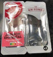 Jambon emmental mini viennois - Product