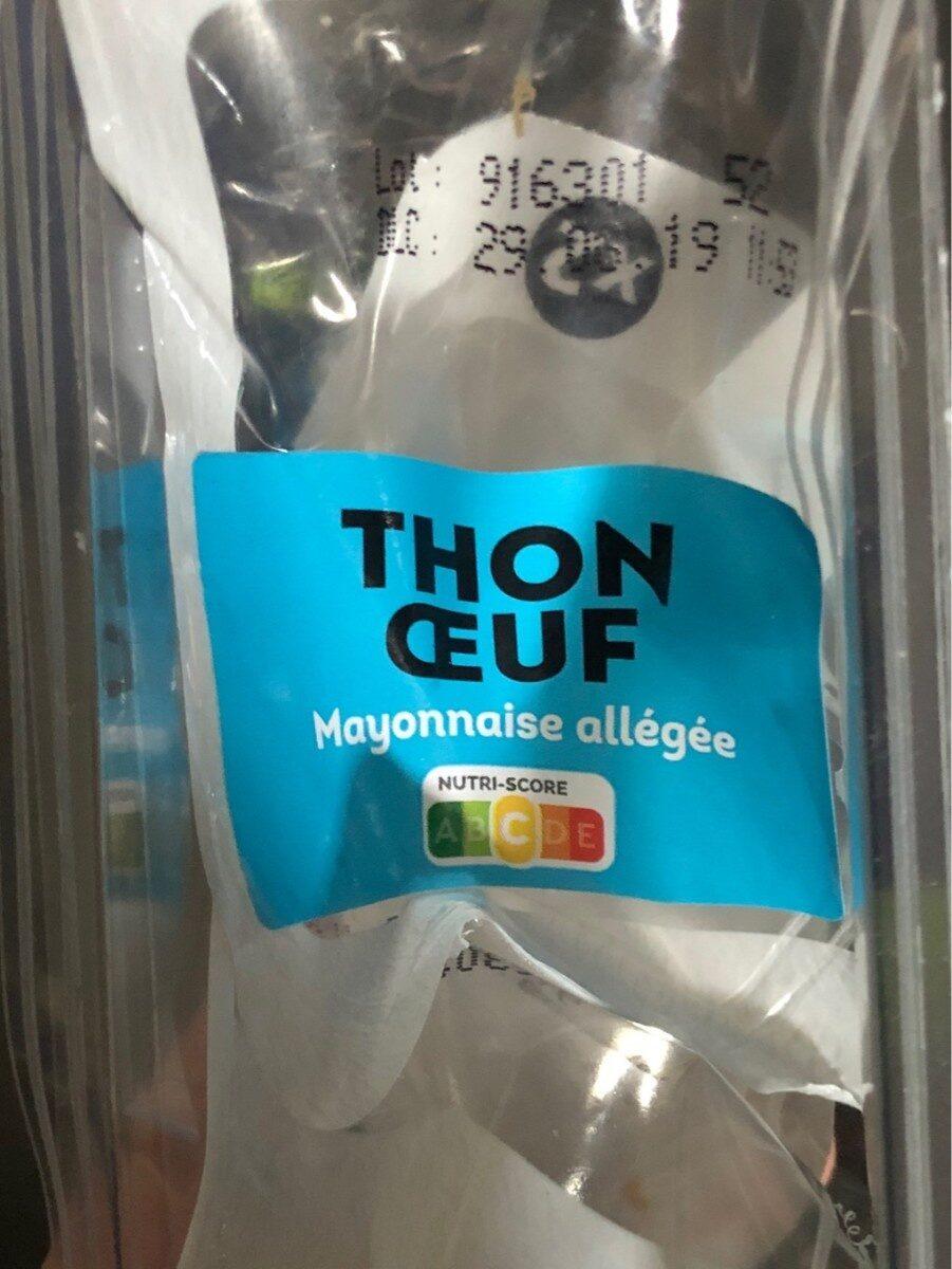 Mini viennois Thon oeuf - Product