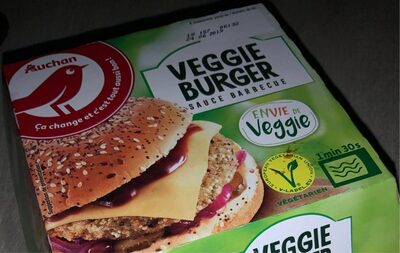 Veggie Burger sauce barbecue - Product - fr
