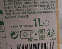 Jus de carotte - Instruction de recyclage et/ou informations d'emballage - fr