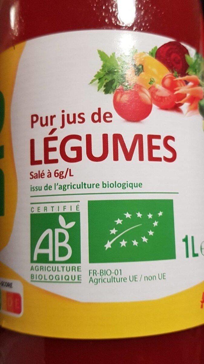 Pur jus de légumes bio - Produkt - fr