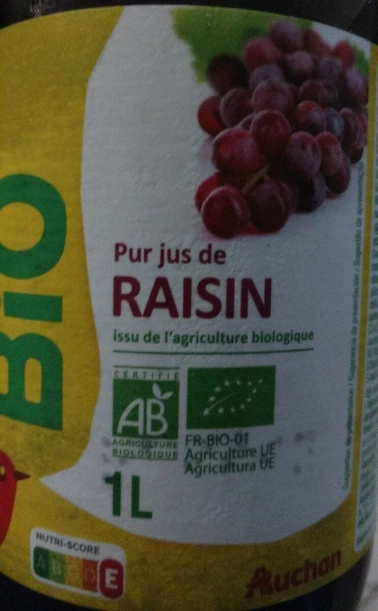 Pur jus de raisin - Product - fr