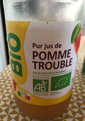 Pur jus de pomme trouble - Produit - fr