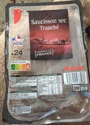 Saucisson sec tranché - Produit