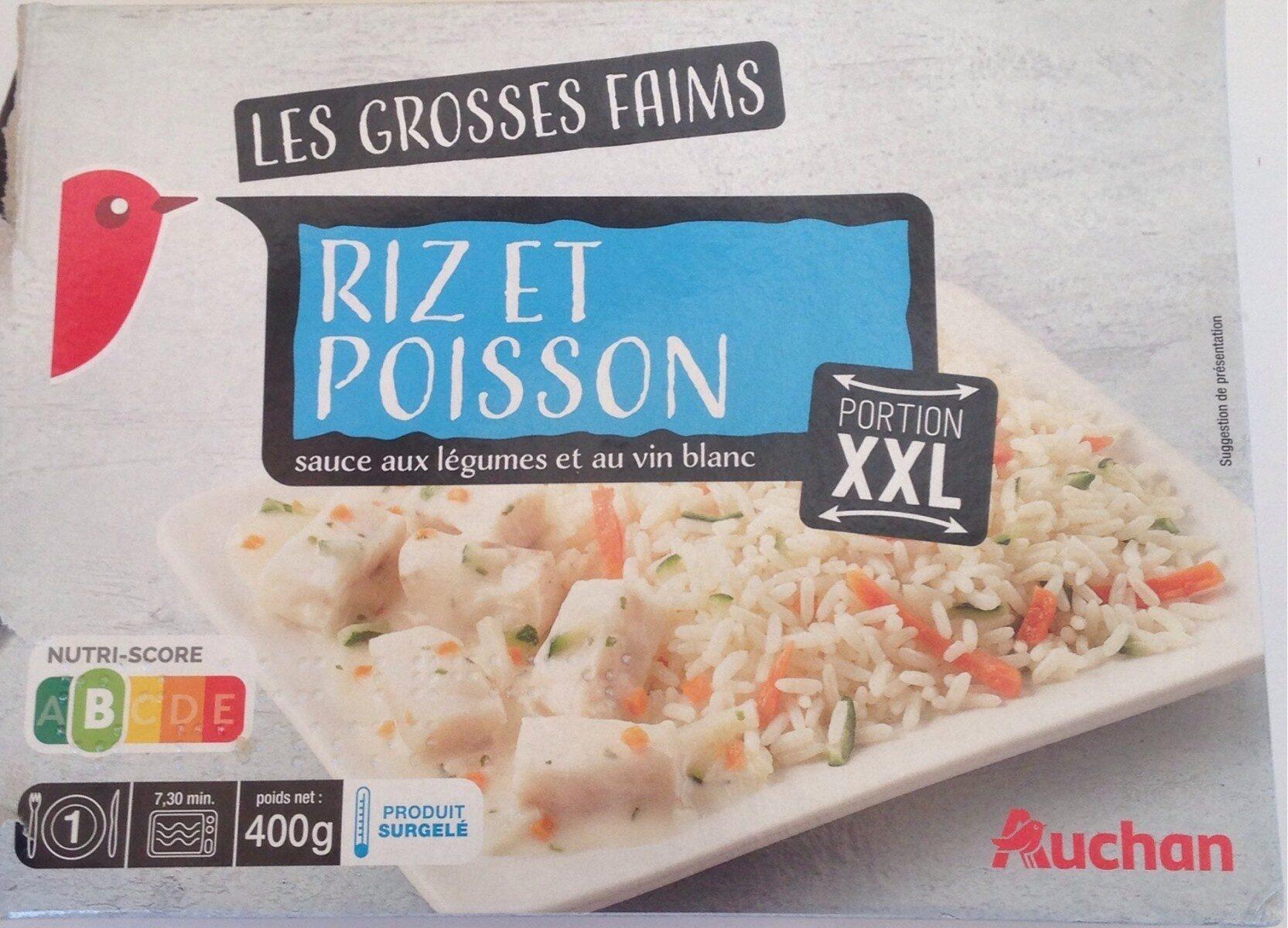 Les grosses faims Riz et poisson - Prodotto - fr