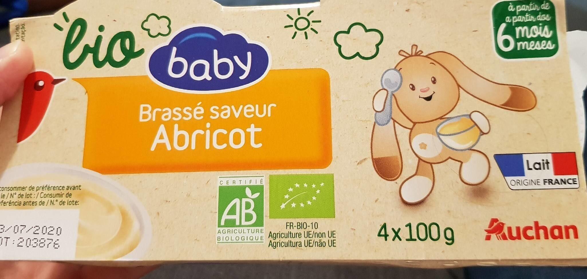 Brassé saveur abricot - Product
