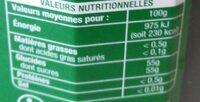 Confiture Extra Cerise - Nutrition facts - fr