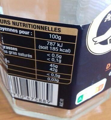 Confiture Abricot de Provence - Ingredients - fr