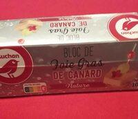 Bloc de foie gras de canard - Produit - fr