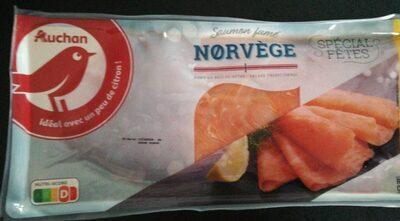 Saumon fumé de Norvège - Product - fr
