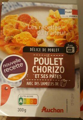 Poulet chorizo et ses pâtes - Product