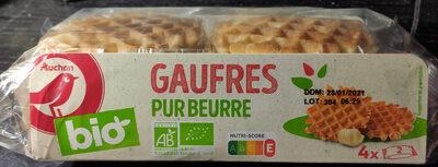 Gaufres pur beurre Bio - Produit - fr