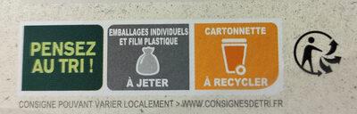 Gaufres pur beurre Bio - Instruction de recyclage et/ou information d'emballage - fr