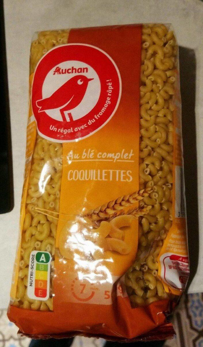 Coquillette blé complet - Produit - fr