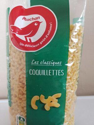 Pâtes coquillettes Auchan - Produit - fr