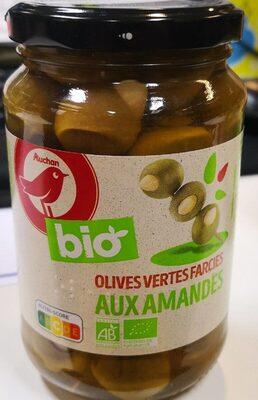 BIO Olives vertes aux amandes - Produit