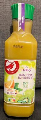Jus orange, raisin, kiwi, citron vert - Produkt - fr