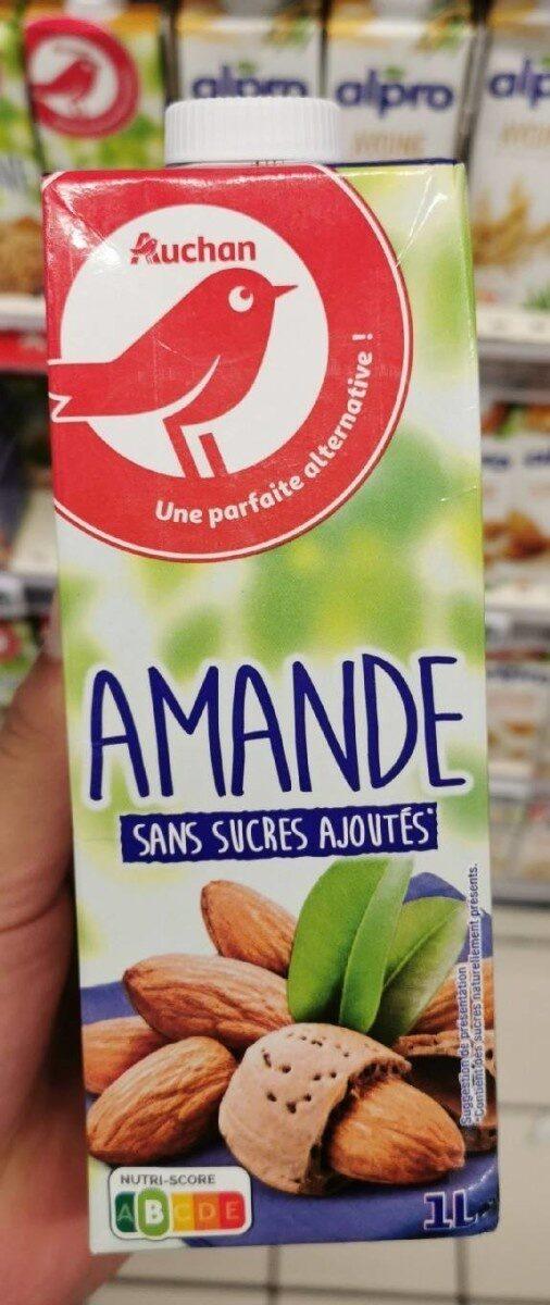 Boisson amande sans sucres ajoutés - Produit - fr