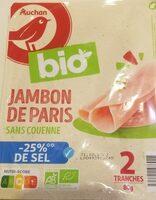 Jambon de Paris sans couenne - Product - fr