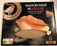 saumon fumé d'écosse - Prodotto - fr