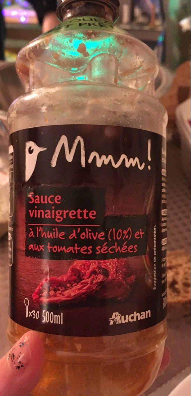 Sauce vinaigrette a l'huile d'olive et tomates sechées - Produit