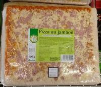 Pizza au jambon 800g Auchan Pouce - Produit - fr