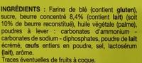 Galettes fines - Ingrediënten