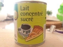 Lait concentré sucré - Produit - fr