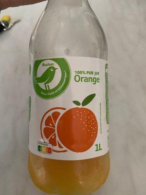 Pur Jus d'Orange - Produit