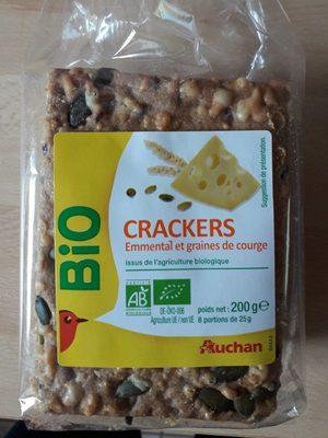 Crackers emmental et graines de courge - Product