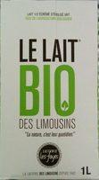 Lait Bio Des Limousins - Produit