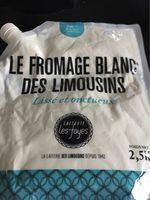 Le fromage blanc des limousins - Product - fr