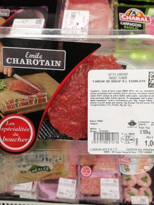 Haché de Bœuf à l'Échalote - Produit - fr