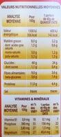 Oats - Voedingswaarden - fr