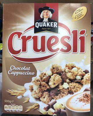 Cruesli Chocolat Cappuccino - Product - fr