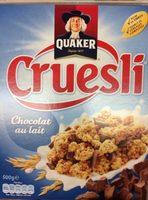 Cruesli - chocolat au lait - Produit - fr