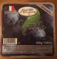 Sorbet Myrtille - Produit - fr