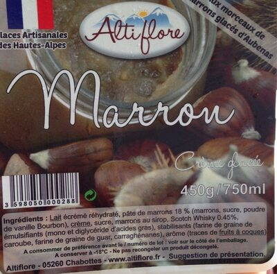 Crème glacée marron 75 - Produit - fr