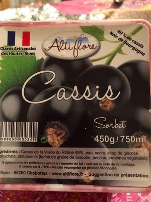 Sorbet cassis - Produit - fr