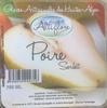 Poire des Alpes - Produit