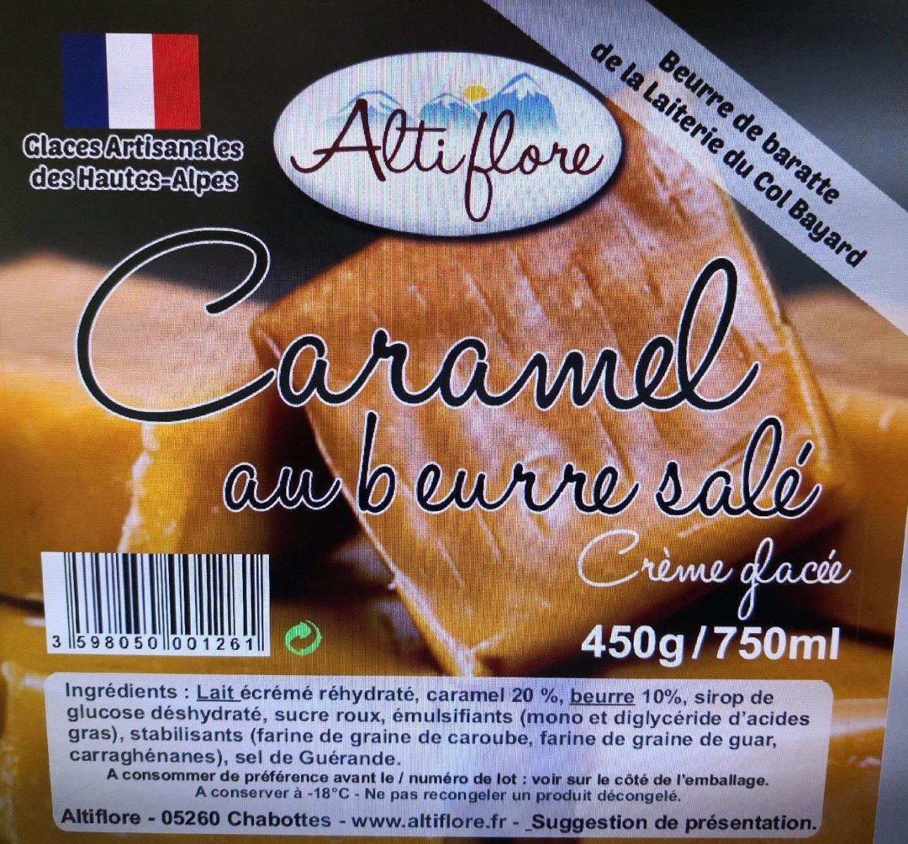 Crème glacée caramel au beurre salé - Product - fr