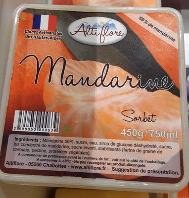 Sorbet Mandarine - Produit - fr