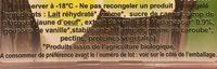 Vanille bio - Ingrédients - fr