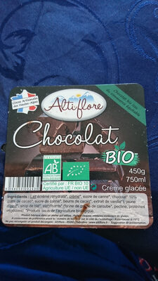 Glace chocolat bio - Produit - fr