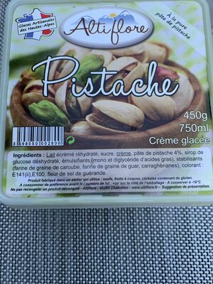 Glace pistache - Produit - fr