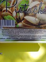 Glace pistache - Ingrédients - fr